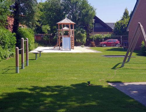 Es geht voran: Der neue Spielplatz in Rorup