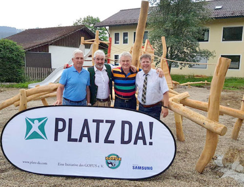 Neuer Spielplatz am Kurpark in Bodenmais
