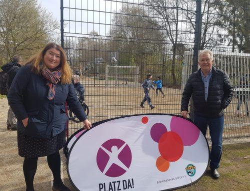 Spielplatzeröffnung in Bremen