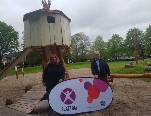 Toll! Wieder ein sanierter Spielplatz in Bremen eröffnet